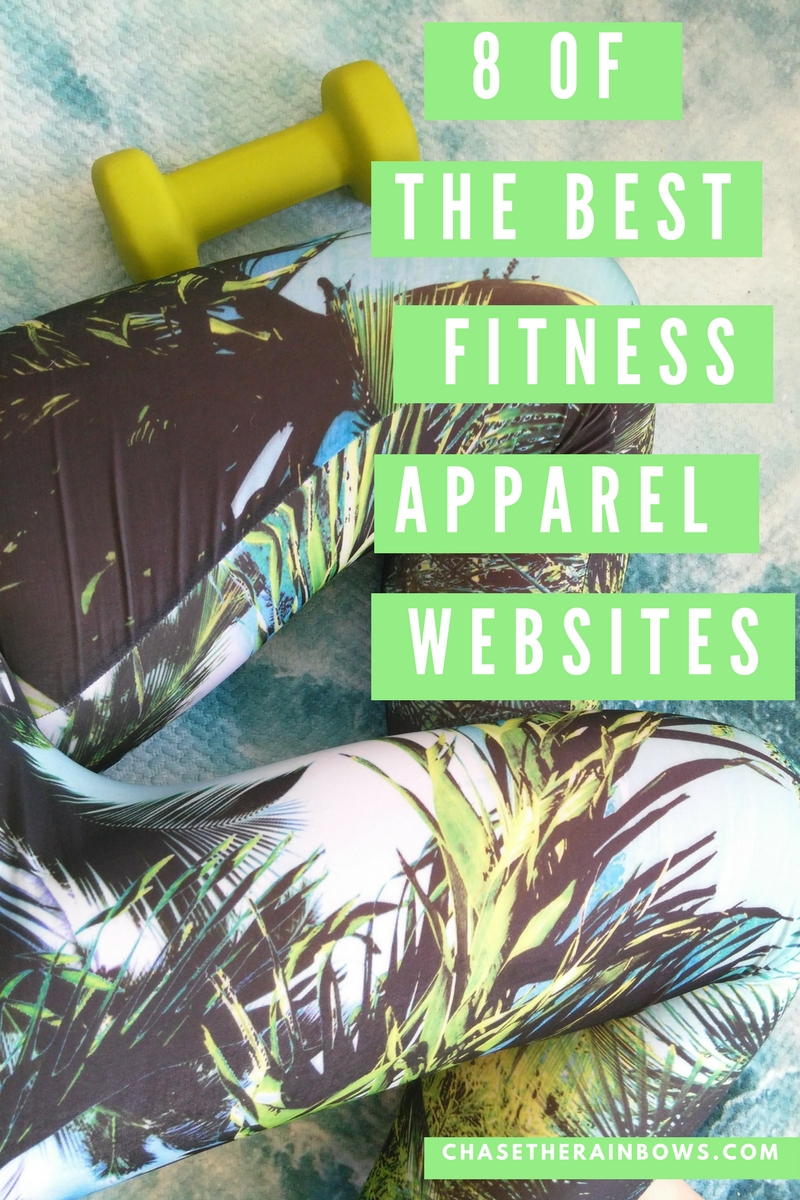8 OF THE BEST FITNESS APPAREL WEBSITES