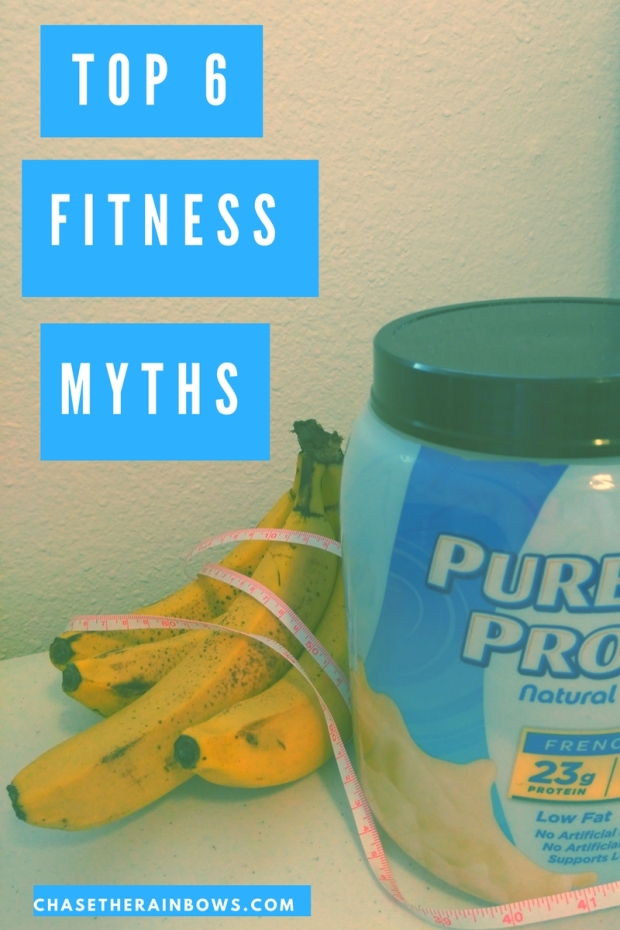 Top 6 Fitness Myths Revealed - read to find out the top myths about health and fitness