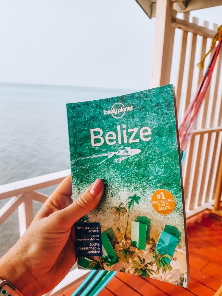 Belize travel guide cover Tobacco Caye